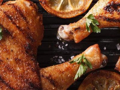 Geräucherte Hähnchenschenkel und Oberschenkel Recipe