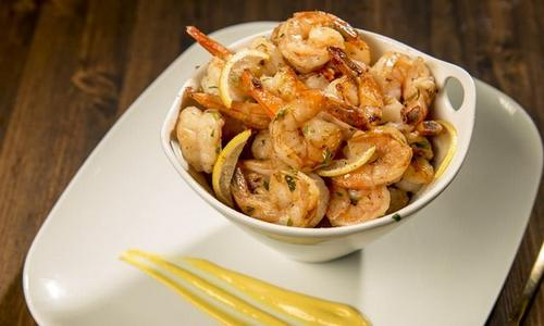 Grilled Shrimp with Mustard Sauce