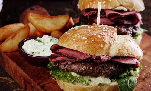 Grilled Pastrami Burger