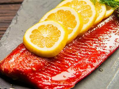 Vodka Brined Smoked Wild Salmon Recipe