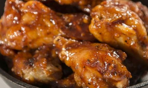 Traeger Mandarin Wings