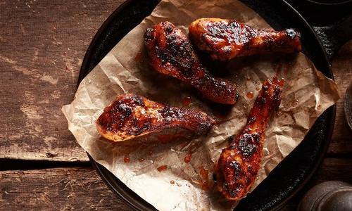 Grilled Beantown Chicken Wings