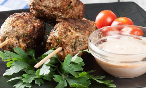 Moroccan Ground Meat Kebabs