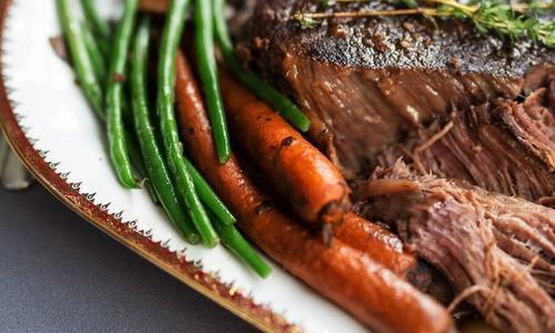 Pot Roasted Beef Brisket