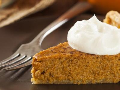 Pumpkin Pie With Bourbon Whipped Cream Recipe