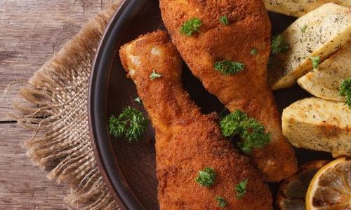 Smoky Fried Chicken