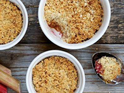 Strawberry Rhubarb Cobbler Recipe