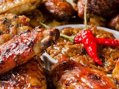 GRILLED SWEET CAJUN WINGS Recipe