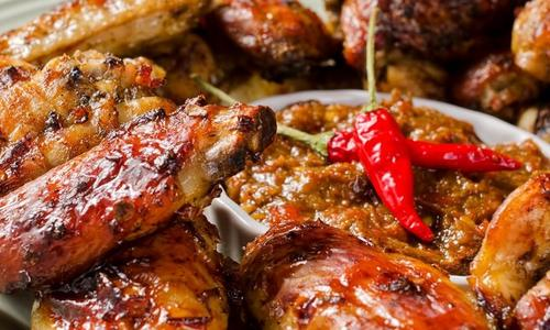 GRILLED SWEET CAJUN WINGS