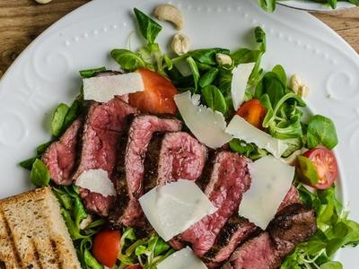 Garlic Parmesan Grilled Filet Mignon Recipe