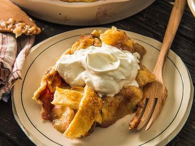 Baked Deep Dish Apple Pie Recipe