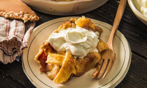 Baked Deep Dish Apple Pie