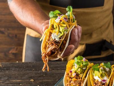 Traeger BBQ Double Decker Taco Recipe