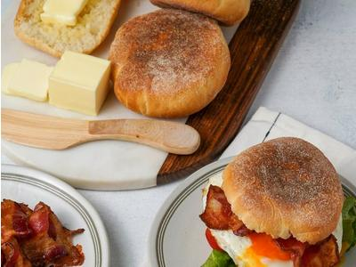 Traeger English Muffins Recipe