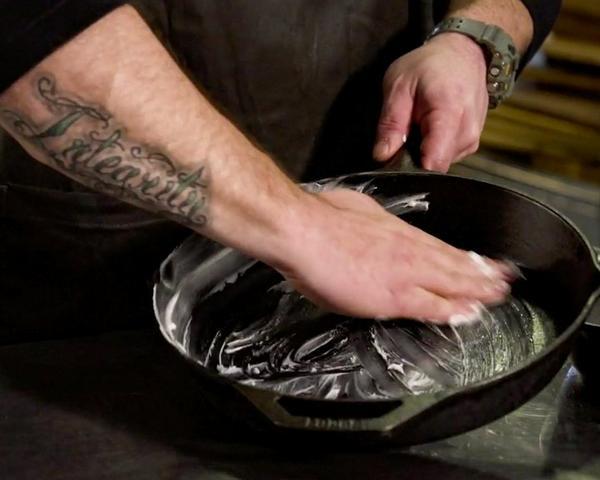 Tools 101: Seasoning Cast Iron with Matt Crawfordimage