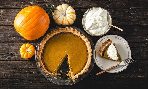 Baked From Scratch Pumpkin Pie