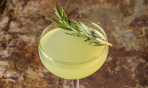 Garden Gimlet Cocktail
