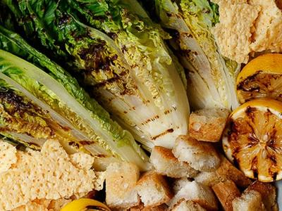 Grilled Romaine Caesar Salad by Amanda Fredrickson Recipe
