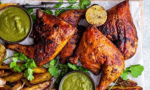 Grilled Paprika Chicken with Jalapeño Salsa