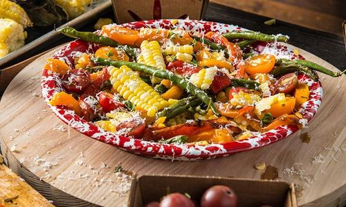 Grilled Harvest Vegetables