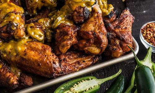 Hellfire Grilled Chicken Wings