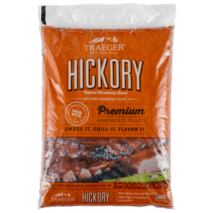 Hickory BBQ Holzpellets