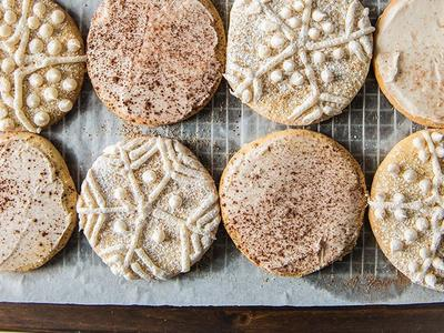 Baked Holiday Sugar Cookies Recipe
