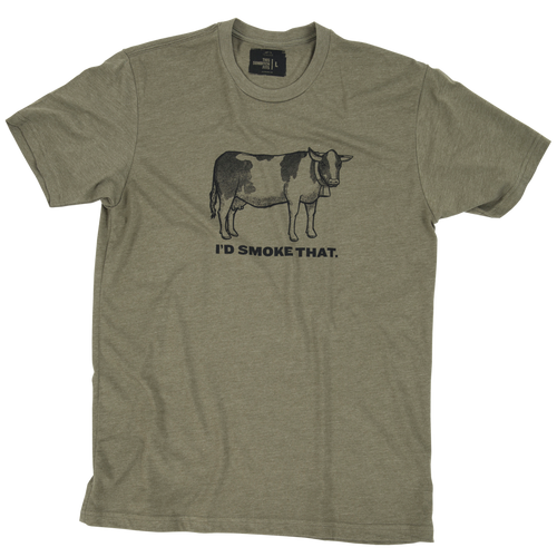 I'd Smoke That Cow T-Shirt - 4XL
