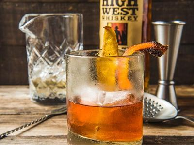 In Traeger Fashion Cocktail Recipe