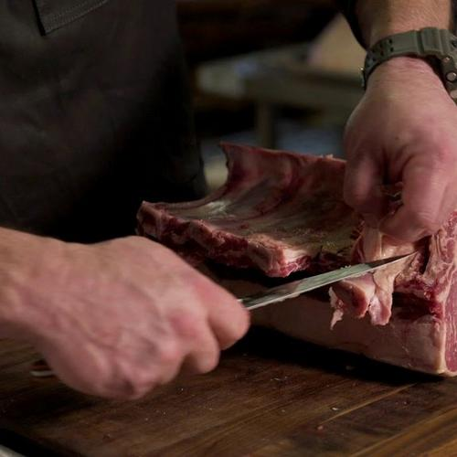 Knife Skills: How to French a Bone-in Prime Rib with Matt Crawford