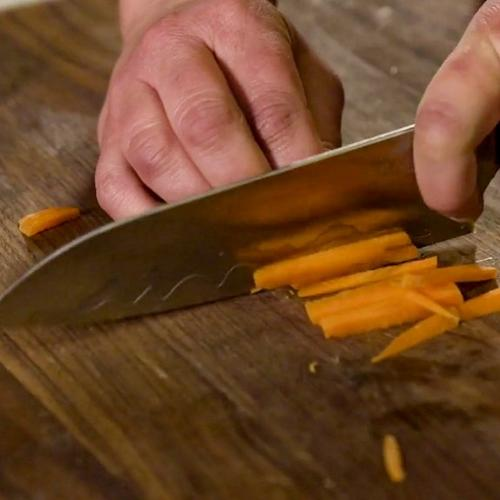 Knife Skills: Julienne Carrots with Amanda Haas