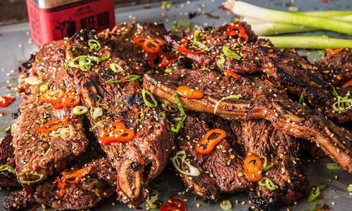 Grilled Korean Short Ribs