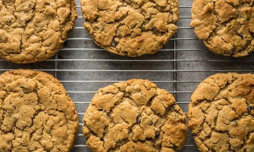 Leave No Trace Smoked Chocolate-Chunk Oatmeal Cookies
