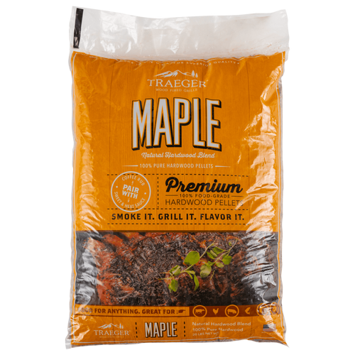 Traeger Maple BBQ Wood Pellets