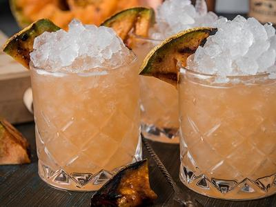 Grilled Meloncholy Fix Cocktail