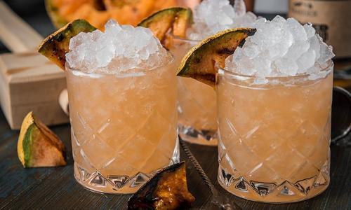 Grilled Melancholy Fix Cocktail