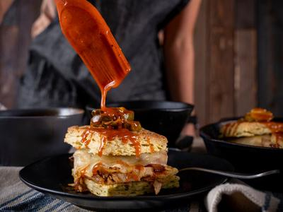Nashville Hot Turkey Melt Recipe