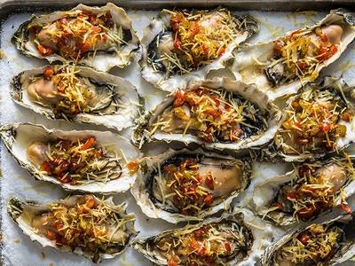 Grilled Oysters by Journey South Recipe