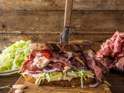 Smoked Pastrami Sandwich Recipe
