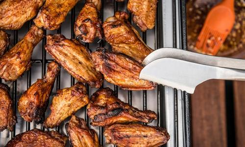 Roasted Sweet Thai Chili Wings by Matt Pittman