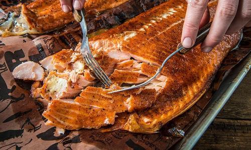 Smoked Teriyaki Salmon by Matt Pittman