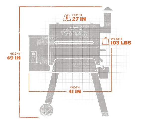 Pro-Series-22-Grill-Capacity-Exterior
