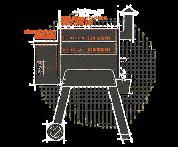 Pro-Series-22-Grill-Capacity-Interior