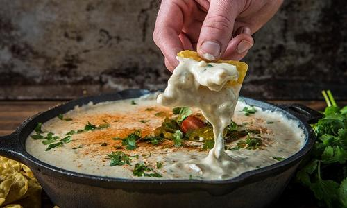 Baked Queso Blanco Dip