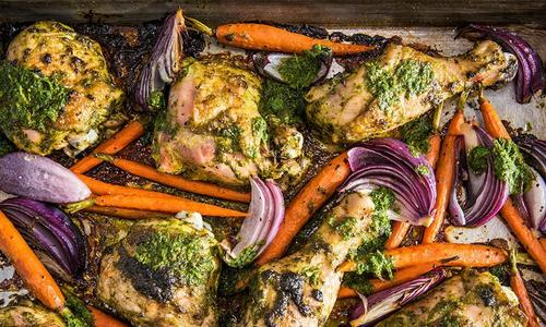 Roasted Sheet Pan Chicken