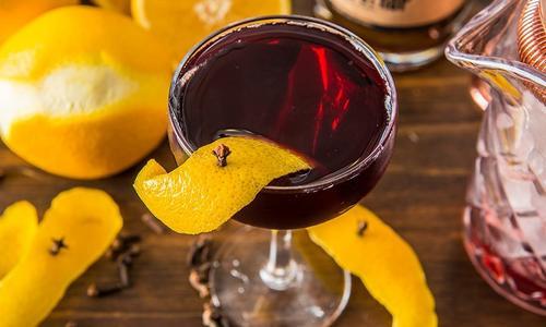 Smoked Sangaree Cocktail