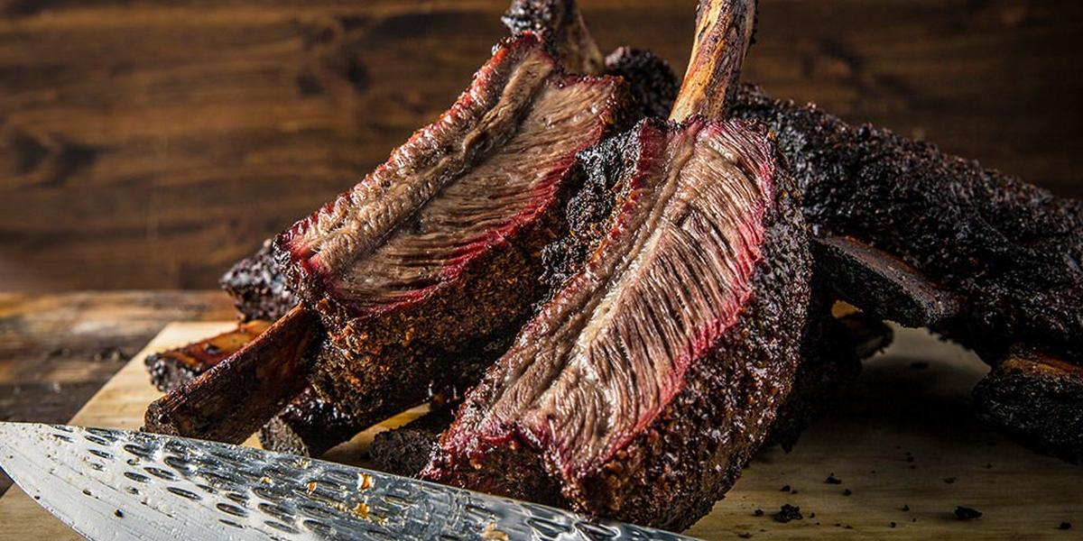 Dry Brined Texas Beef Ribs By Doug Scheiding Recipe Traeger Grills