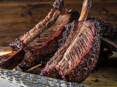 Dry Brined Texas Beef Ribs by Doug Scheiding Recipe