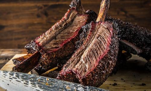 Dry Brined Texas Beef Ribs by Doug Scheiding