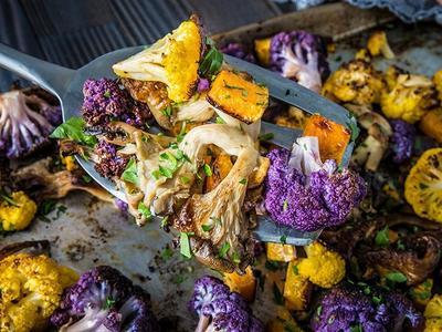 Roasted Sheet Pan Vegetables Recipe